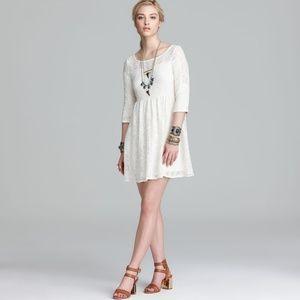NWT Free People 'Shake It Up' Lace Dress S